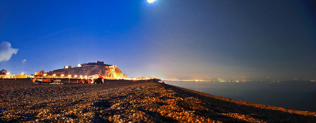Milazzo - Panoramica notturna - NO HDR