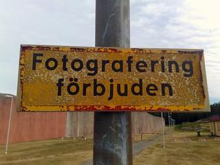 Photography prohibited!