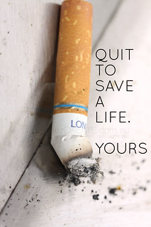 """Poster Design for """"Quit Smoking"""" Campaign 02"""