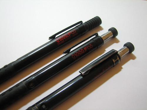 My 3 Swords_Pentel Q1000 Series-2 | by DietrichLiao
