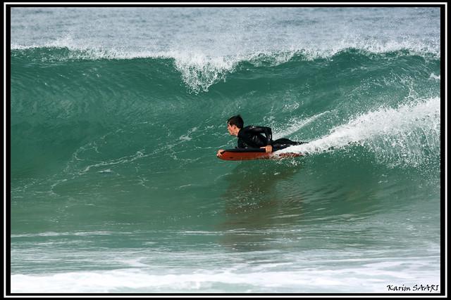 Hossegor Surf session à la plage de la gravière ~ Karim SAARI ©