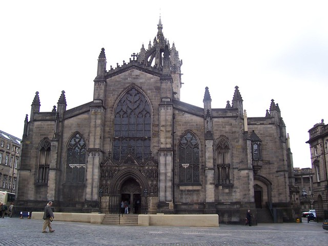 St Giles Cathedral, Edinburgh, May 2007
