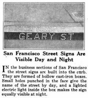 Geary St (backlit, 1922)