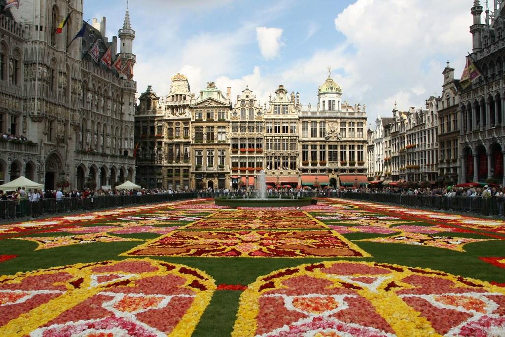 الاماكن السياحية في بروكسل بروكسل تاون هول