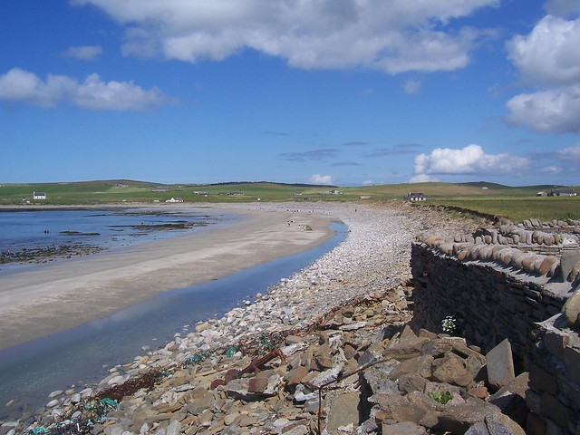 Bay of Skaill, Orkney Isles, July 2009