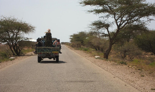 11b. Our militaryescort through the buffer zone between Somaliland and Puntland | by Breaking the Cycle