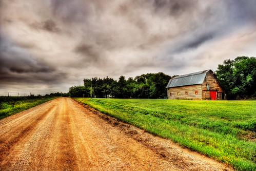 barn hrd wisconsin published rural road sky forest trail