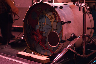 12570 Heartsounds' Until We Surrender artwork on bass drum skin at Sub-Mission | by geekstinkbreath