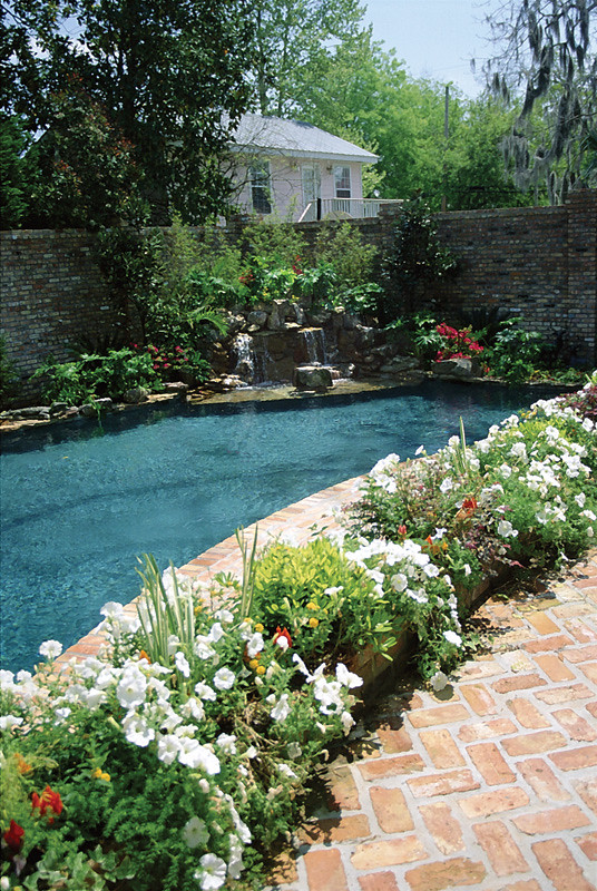 Planter Boxes Trim The Pool | Swimming Pool Ideas, Advice, T ...