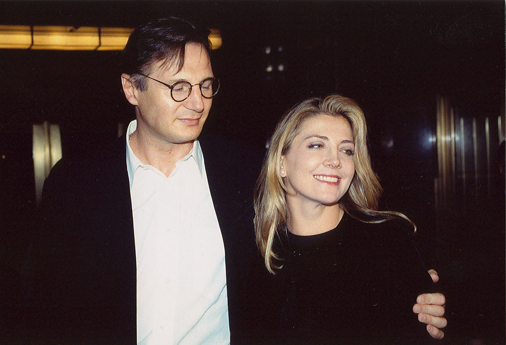 Liam Neeson and Natasha Richardson at a sold out performan