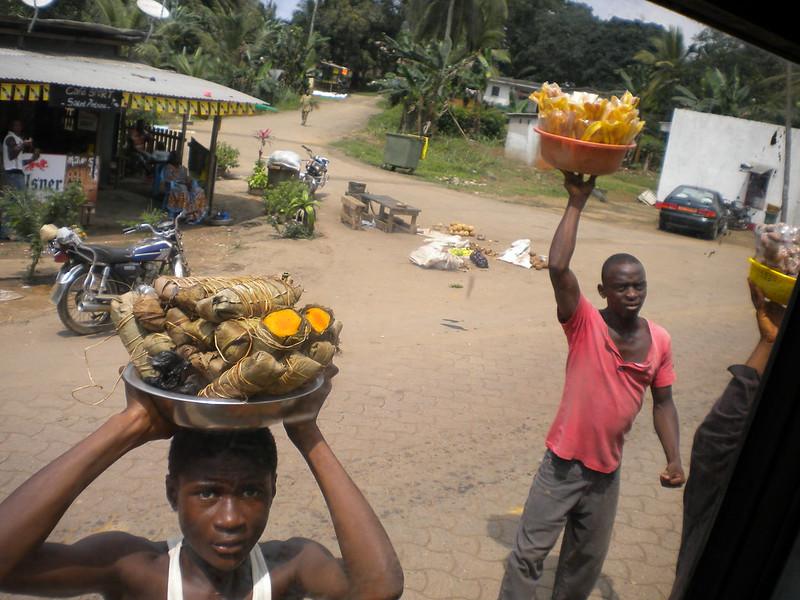 Road-side merchants