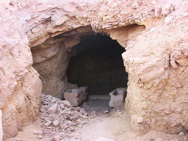 SYRIEN-Palmyra, einfache Grabstätte ca. 200 n.Chr.