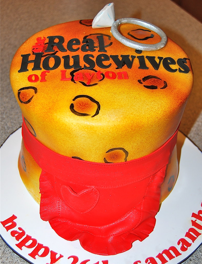Pleasant The Real Housewives Of Birthday Cake Elisha Shibuya Flickr Funny Birthday Cards Online Barepcheapnameinfo