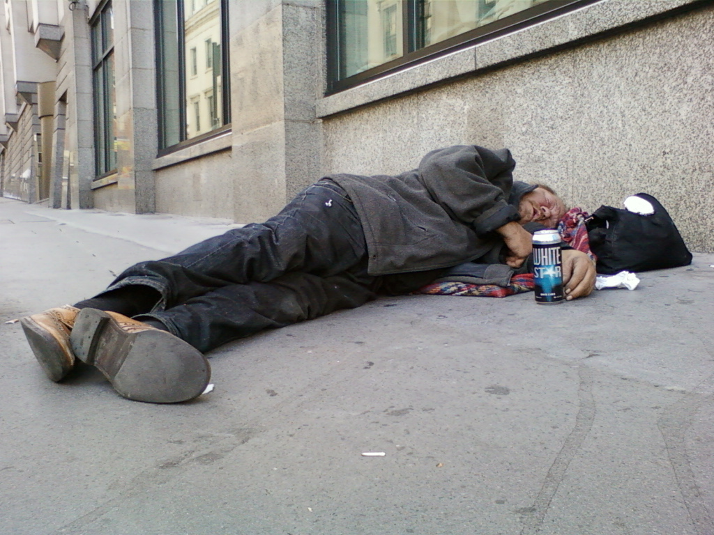 Homeless Americans should be a vaccination priority