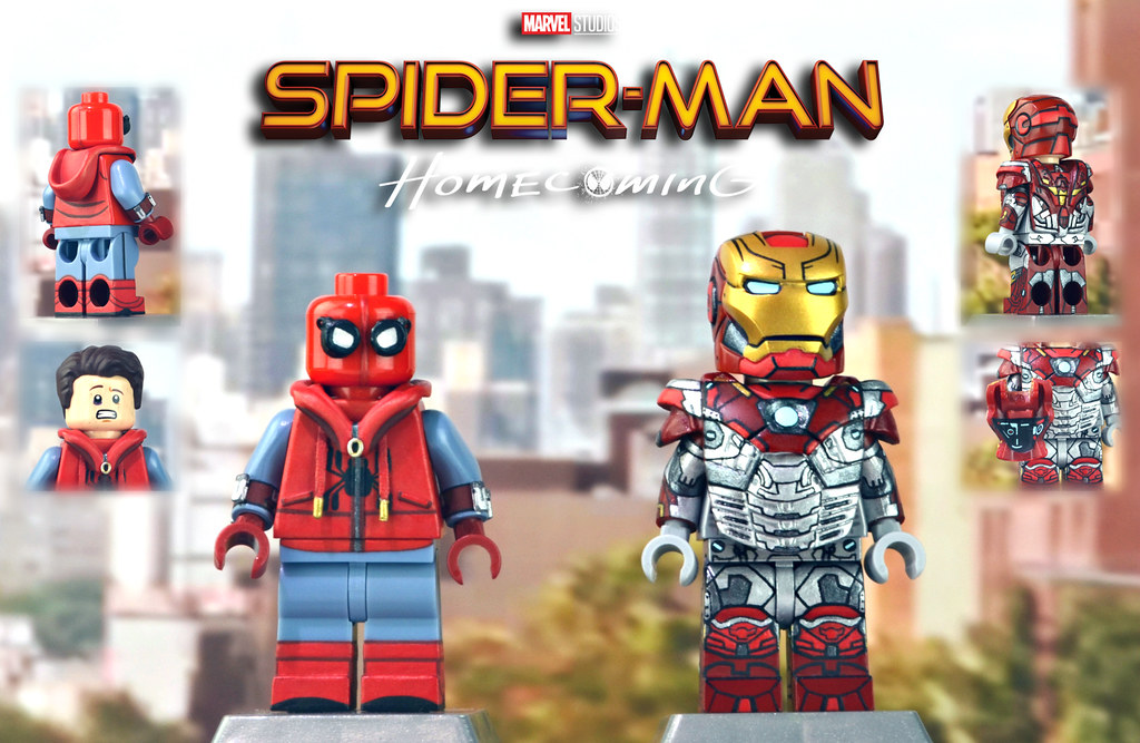 Lego Spider Man Homecoming Spider Man Homemade Costume Flickr
