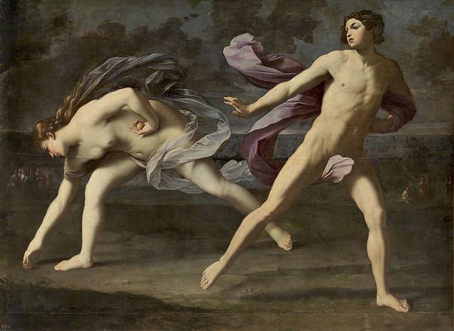 +1619: Atalanta  e Hipómenes