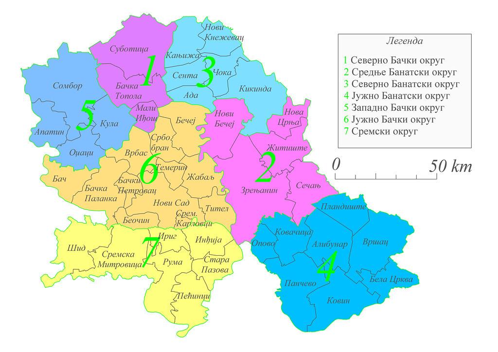 Administrativna Karta Vojvodine Administrativna Karta Vojv Flickr