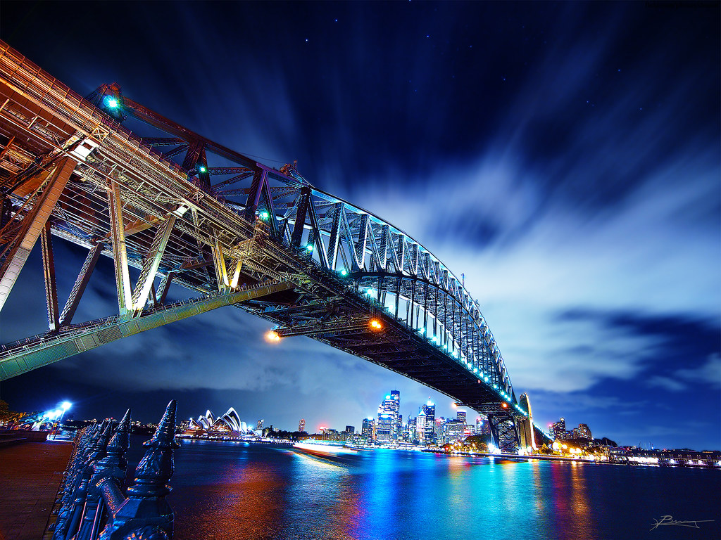 reflections of sydney by paul bica