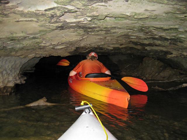 Anne Elmore, karst feature, Barren Fork River, Warren Co, TN