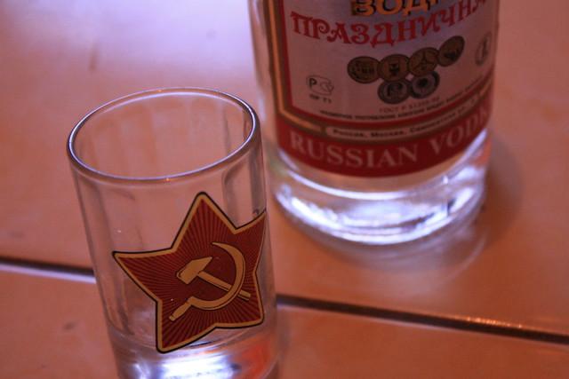 vodka van russian