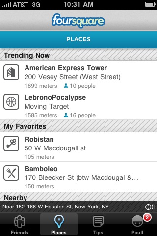 LebronoPocalypse is trending on @Foursquare - overkill much?