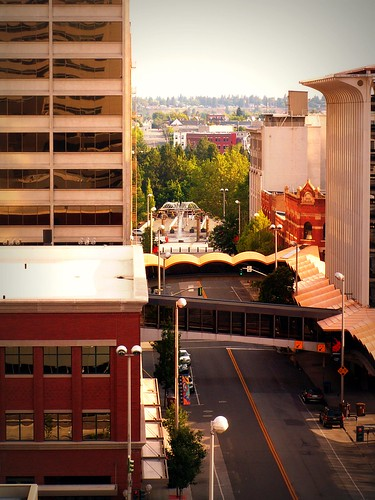 sunrise spokane multi multistory emptystreet spokanewa skywalk howardstreet downtownspokane multilevel 99201 skywalks spokaneskyline