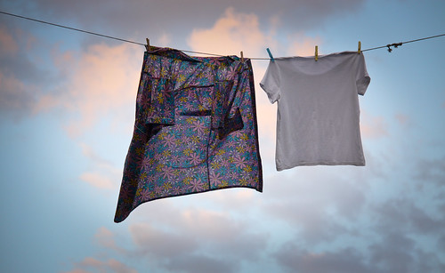 Laundry Hanging in Sunnyside, Queens | by ChrisGoldNY