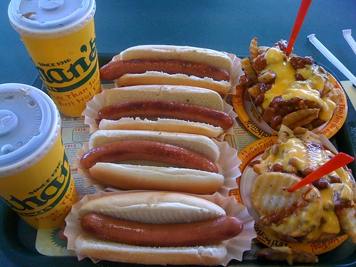 Nathan's Hot Dogs Plus Chili Cheese Fries | by joeymanley