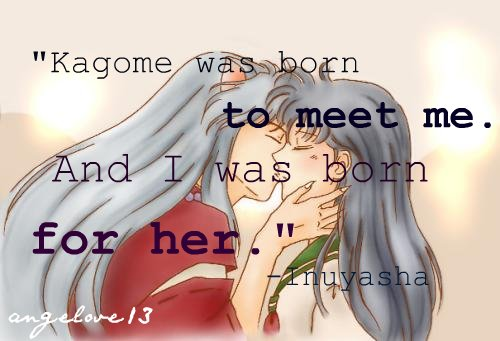 Inuyasha Love Kagome They Re My Favorite Anime Of All Time