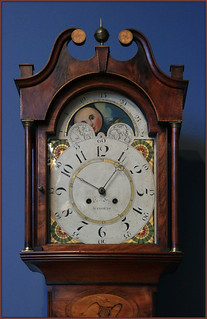 de Young Museum: tall case clock by Jacob Eby, ca 1810   by jenfoolery