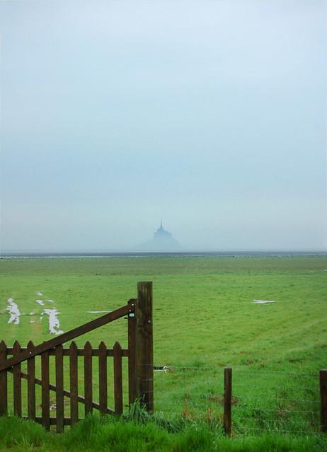 Le portail - Baie du Mont Saint-Michel - (Manche)