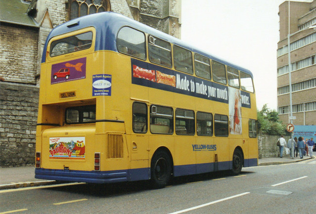 126, OEL 126M, Daimler Fleetline (rear t.1993)
