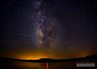 Milky Way over Lake Mary, Flagstaff - AZ - Perseids Meteor Shower | by Logan Brumm Photography and Design