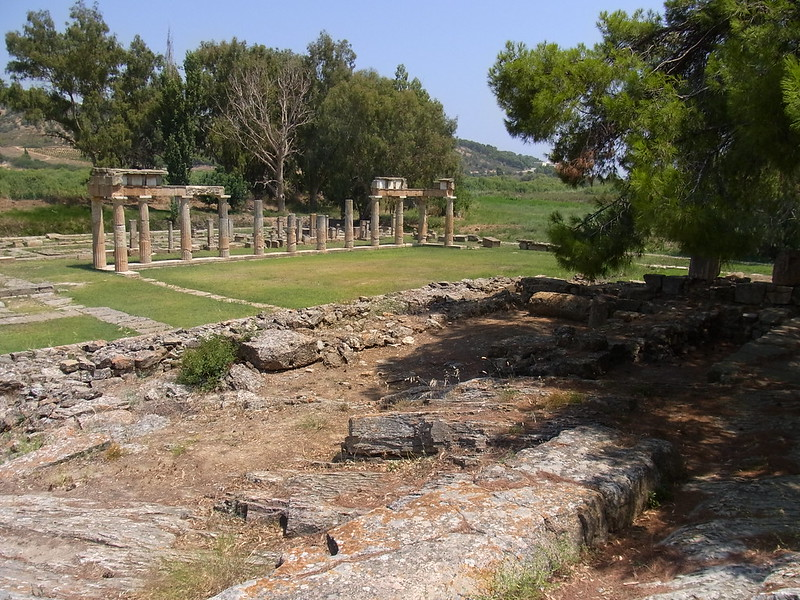 The sanctuary of Artemis at Brauron