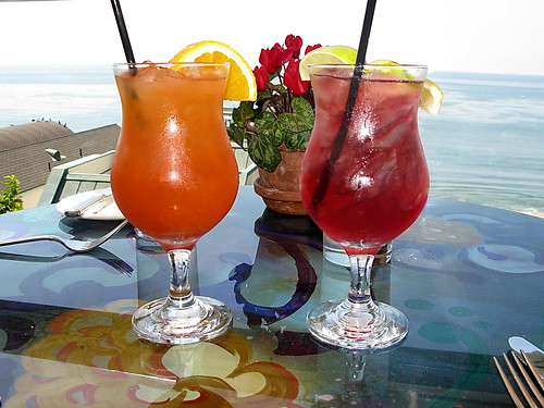 Geoffrey's Malibu Sunday Brunch libations