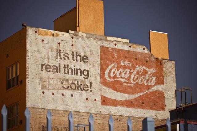 Coca Cola - ghost sign