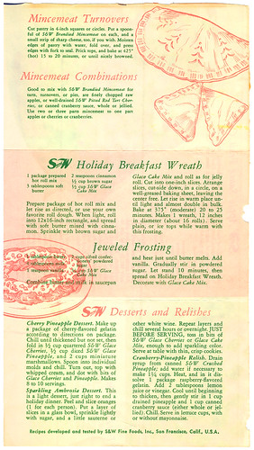 15 Simply Wonderful Holiday Recipes S&W BN0061 D