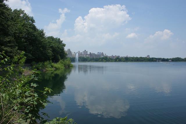 Walking around Central Park