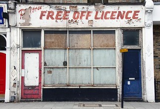 Free off licence, Brixton | by Alex_Pink