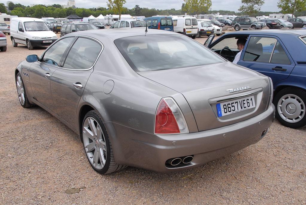 Maserati Quattroporte 2003 / 2012   3ème Rétro Festival de ...