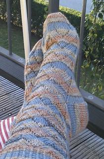 Monkey Socks all done | by schjerning