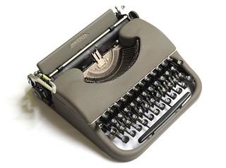 Patria typewriter   by shordzi