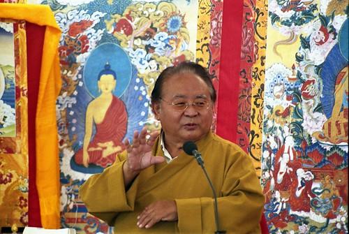 Sogyal Rinpoche teaching in Dzogchen Beara | by Olivier Riché