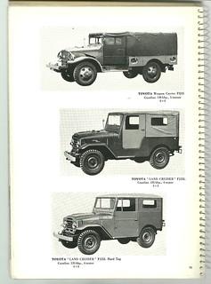 1959 Toyota military trucks