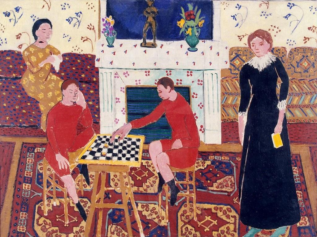 Henri Matisse - Painter's Family [1911]
