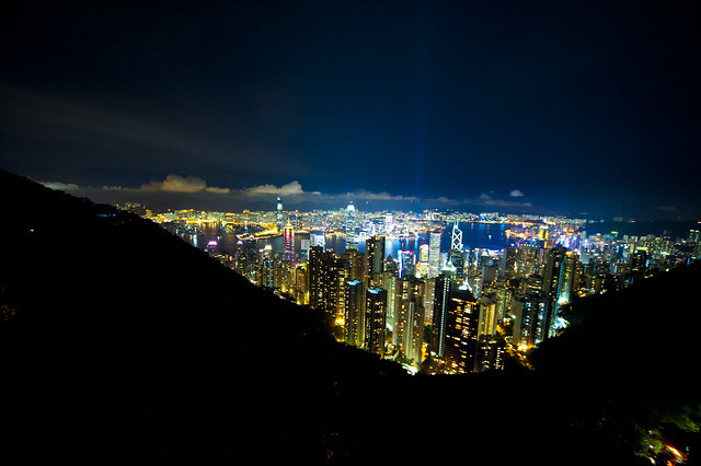 Hong Kong million dollar view