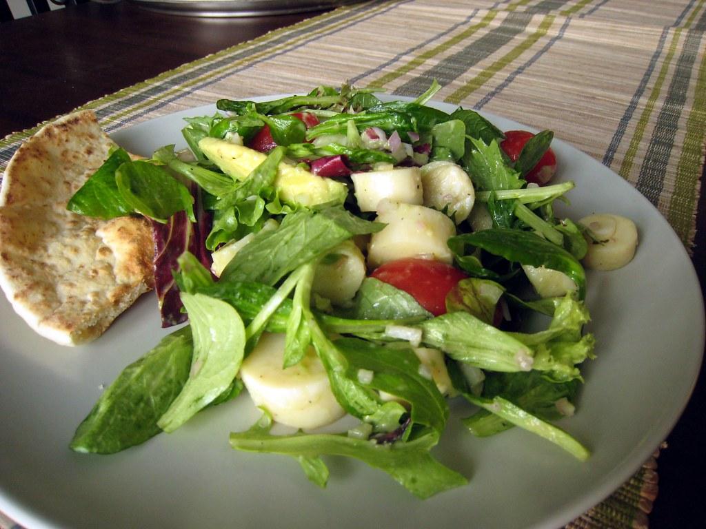 Heart Salad   Heart of Palm, Artichoke Heart, Avocado Salad