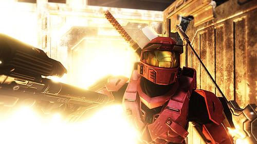 Halo 3 Screenshot - Sniper Explosion