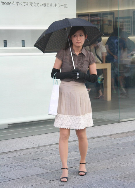 Summer in Japan - sun protection