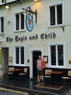 Outside The Eagle and Child | by Marc Vandersluys